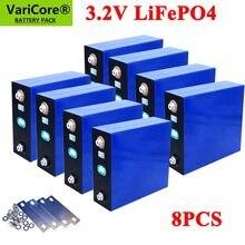 Lot de 8 batteries Lifepo4 rechargeables, 3.2v, 310Ah, 280Ah, 200Ah, cellules solaires au Lithium, fer, Phosphate, Grade A, 12v, 24v, sans taxes