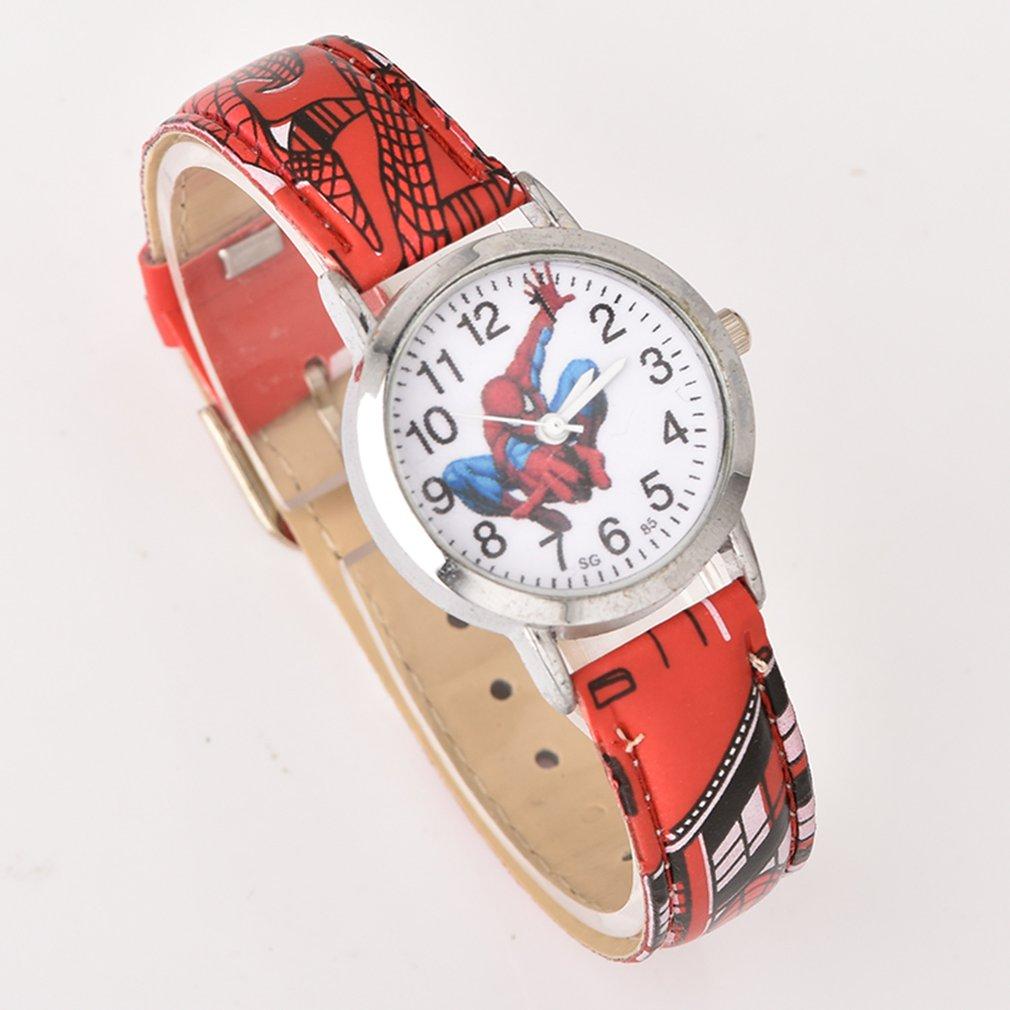 Fashion Children Watch Round Dial Kids Watches Girls Boys Leather Watches Clock Quartz Wristwatch For Dropshipping