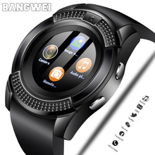 2019 LIGE Men Women Smart Watch Wristwatch Support With Camera Bluetooth SIM TF Card Smartwatch For Android Phone Couple Watches