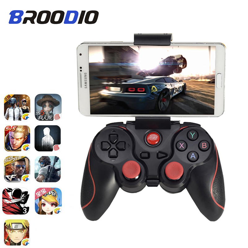 X3 Bluetooth Wireless Gamepad Support Official App Game Pad Controller Joystick For Iphone IOS Android Game Handle For PC TV Box image