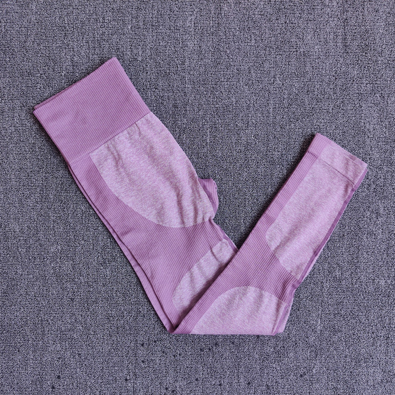 PantsPurple - 11 colors seamless yoga suit