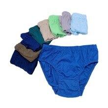 Underwear Baby Briefs Panties Girls Boys Children Solid for 2-10years 6pc