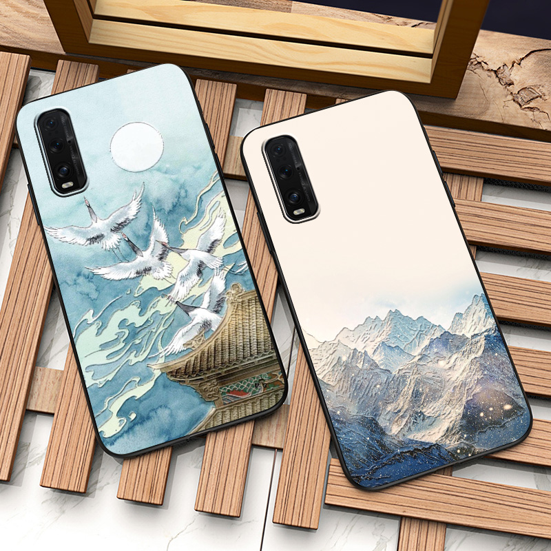 3D Relief <font><b>Case</b></font> for <font><b>Oppo</b></font> Find X2 Pro <font><b>Case</b></font> X50 Pro Reno 3 Pro Realme X2 Pro XT <font><b>A5</b></font> <font><b>A9</b></font> <font><b>2020</b></font> Reno 10X Soft TPU Shell Funda <font><b>Case</b></font> Cover image