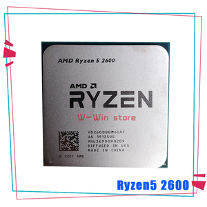AMD Ryzen 5 2600 R5 2600 3.4 GHz Six-Core Twelve-Core 65W CPU Processor YD2600BBM6IAF Socket AM4