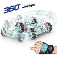 1:16 S-012 RC Car 4WD 2.4G telecomando auto acrobatica deriva gesto induzione 360 gradi torsione danza fuoristrada auto da corsa giocattolo