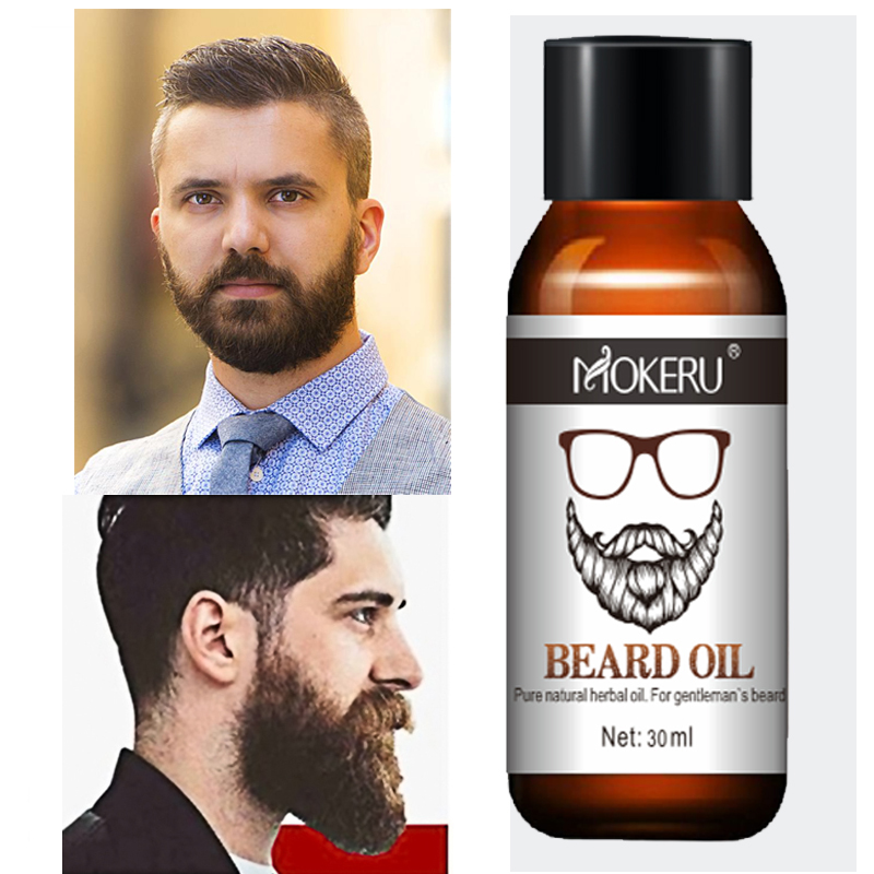 Hot Sales 100% Natural Organic Men Beard Growth Oil Products Hair Loss Treatment Conditioner For Groomed Fast Beard Growth 30ml image
