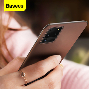 Baseus Luxury Phone Case For Samsung S20 Ultra S 20 Thin Frosted Shockproof Back Cover For Samsung S20+ S20 Plus 5G Coque Fundas