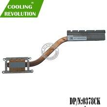 Настоящий радиатор для DELL LATITUDE 5580 NIB02 378CK 0378CK