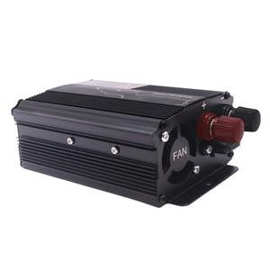 500W Transformer Universal Solar Powered Voltage Car Inverter Pure Sine Wave 12V 24V To 220V Power Easy Install Accessories