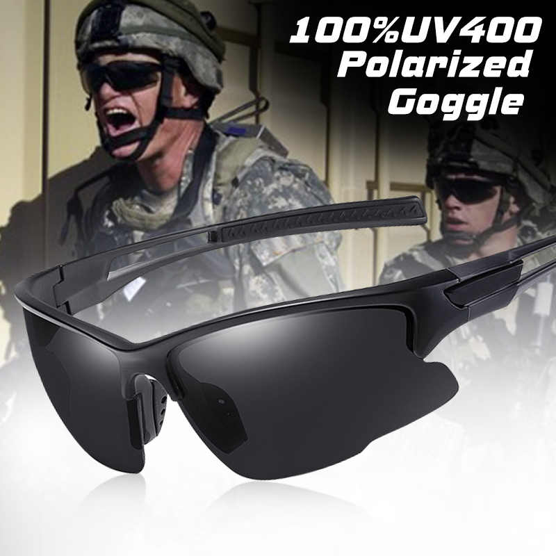 Brand Outdoor Sport Sunglasses Men Polarized Windproof