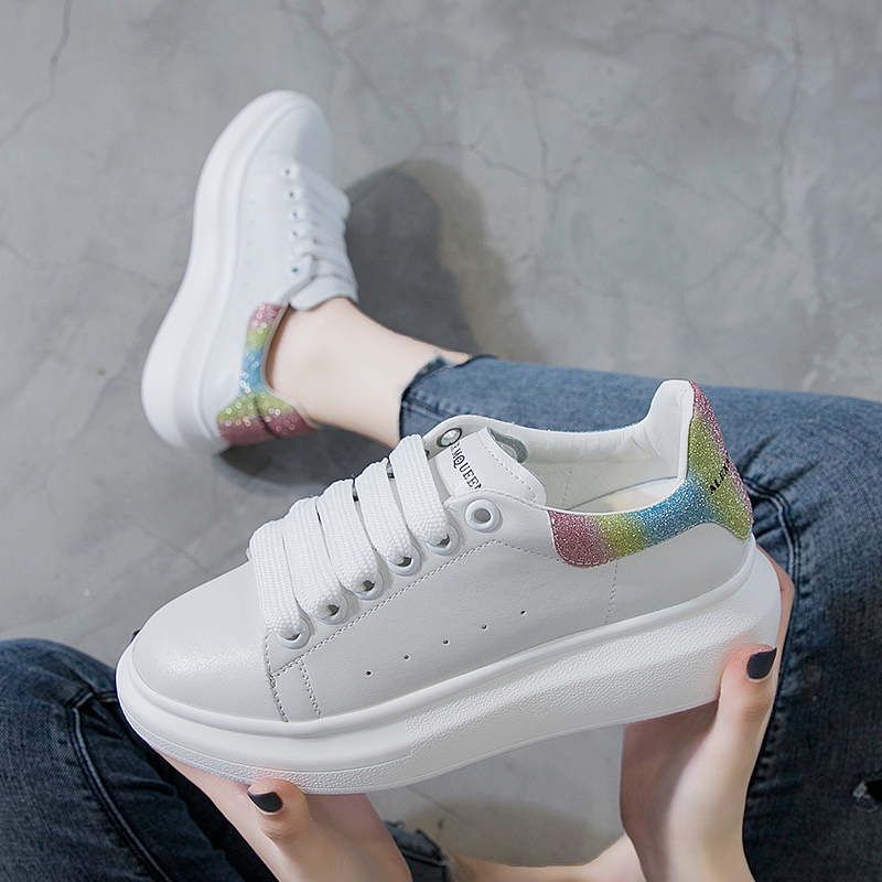 Offwhite Shoes Sneakers Skateboarding-Shoes Queen Balen Women Height Mc 6cm Increase title=