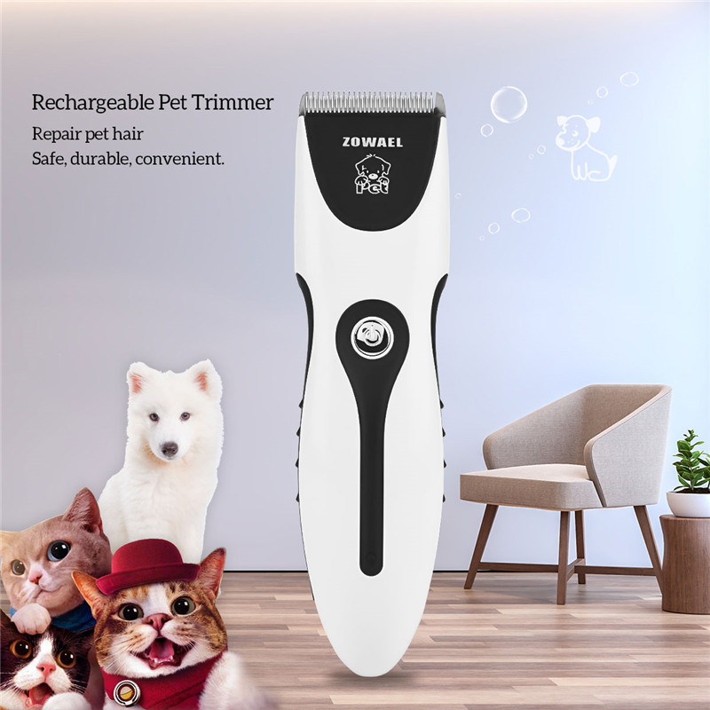 Pet Animal Dog Cat Trimmer Clipper Alloy Blades Durable Sharp Edge Cutter Head Knife Professional Hair Trimmer For Pet Dog Cat