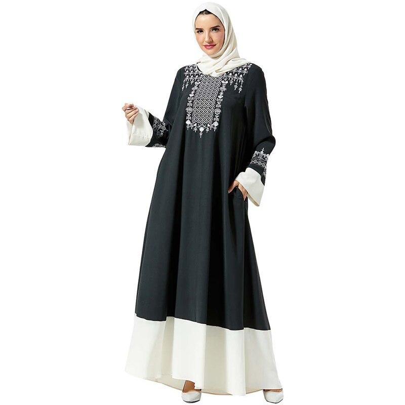 Abaya Kaftan Dubai Hijab Muslim Dress Islamic Clothing Abayas For Women Islam Caftan Turkish Dresses Qatar Robe Femme Vestidos