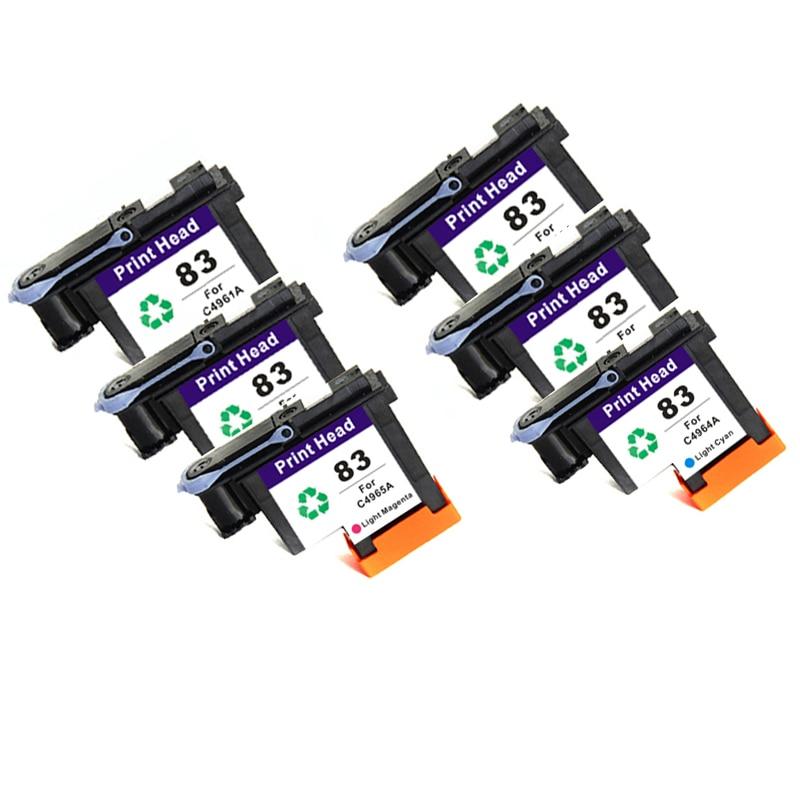 Vilaxh For HP 83 Print Head Compatible Designjet 5000 5500 C7960A C7961A C7962A C7963A C7964A