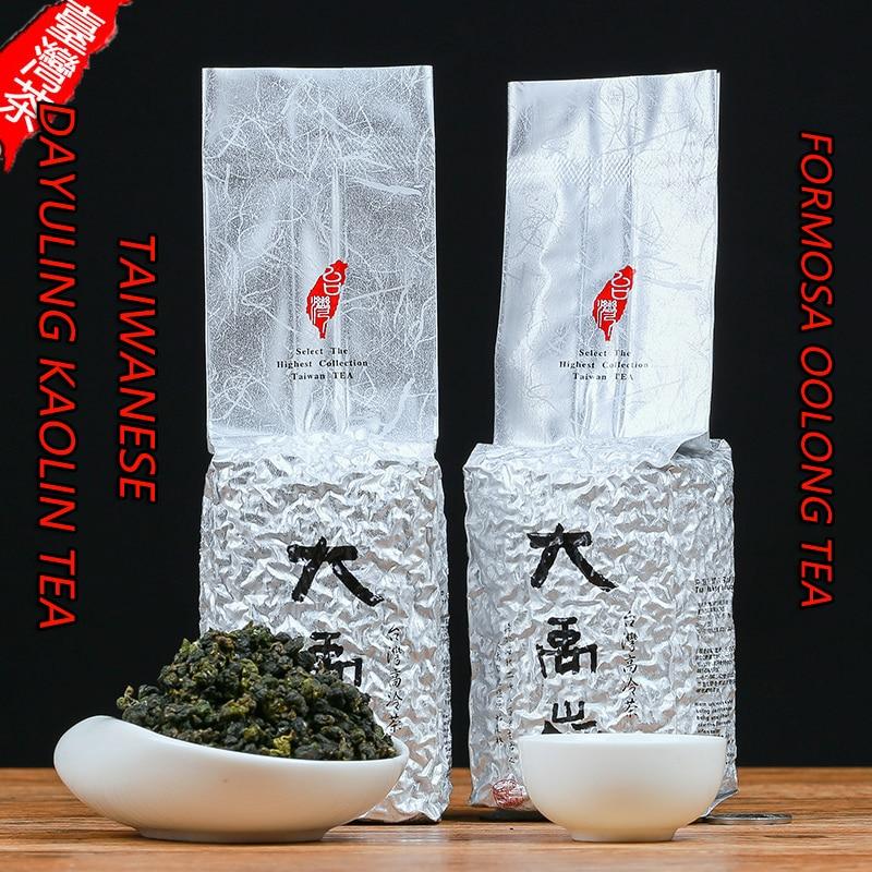 2020 New Taiwanese Dayuling Kaolin Tea Taiwanese Oolong Tea Taiwanese Super-grade Alpine Tea Fragrant 150 g 300 g Bag Packaging