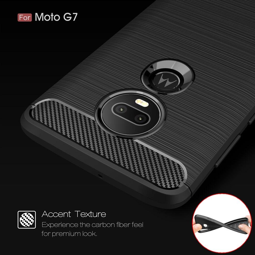 6.4For Moto G7 Case For Motorola Moto G7 G8 E7 One Macro Fusion Rola Edge Plus Play Power Lite G Stylus Coque Cover Case