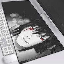 Naruto naruto anime mouse pad grande jogo 900x400mm hd padrão grande computador mouse pad dos desenhos animados xxl almofada para mouse keyb