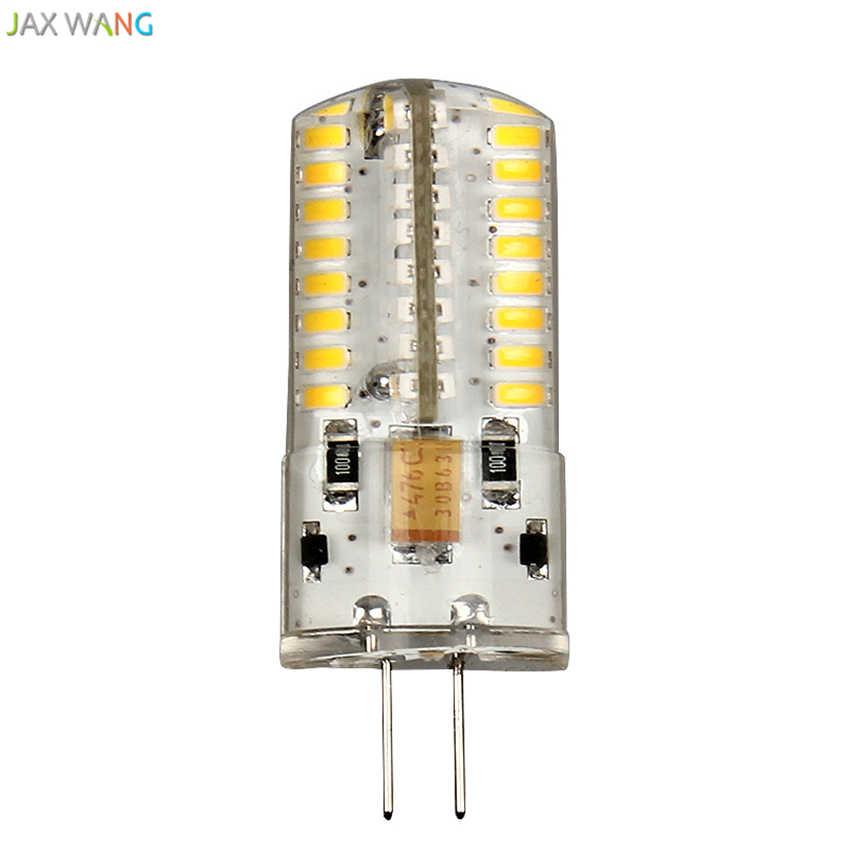 G4 LED lumières perle broche petite ampoule basse pression cristal lampe maïs ampoule mettre en évidence 220V bulle pendentif LED lumières