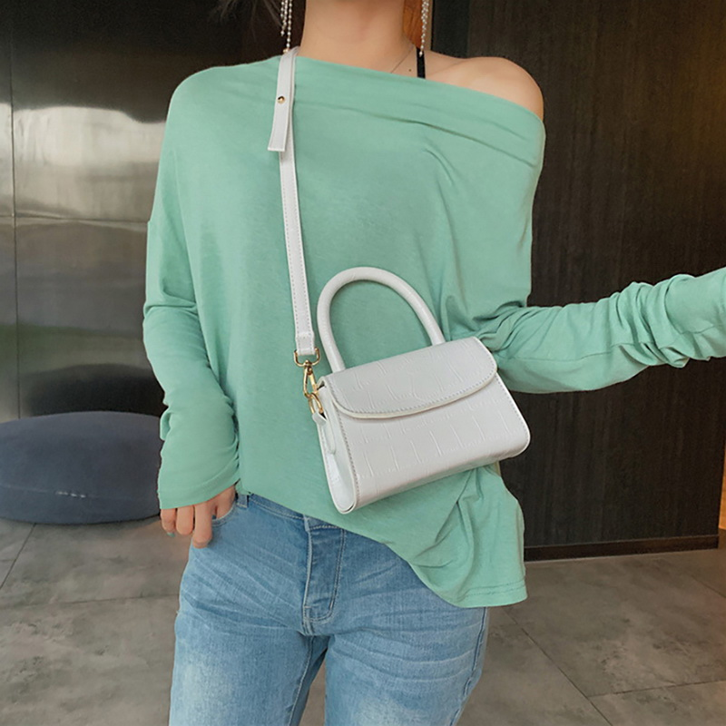 H98e92d5d63fa43c6b724c44160a9e802K - New Women Shoulder Messenger Bag Ladies Handbags Casual Solid PU Leather Handbag Fashion Ladies Party Handbags Clutch