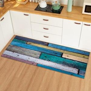 Modern Kitchen Mat Home Doormat Carpet for Living Room Hallway Decoration Floor Anti-Slip Mats Bedroom Entrance Door Bath Rug(China)