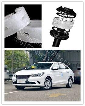 PUOU Car Shock Absorber Spring Bumper Power 2Pcs Auto Buffers For CHANGAN EADO RAETON XT CX70T Type Cushion Buffer free Shipping