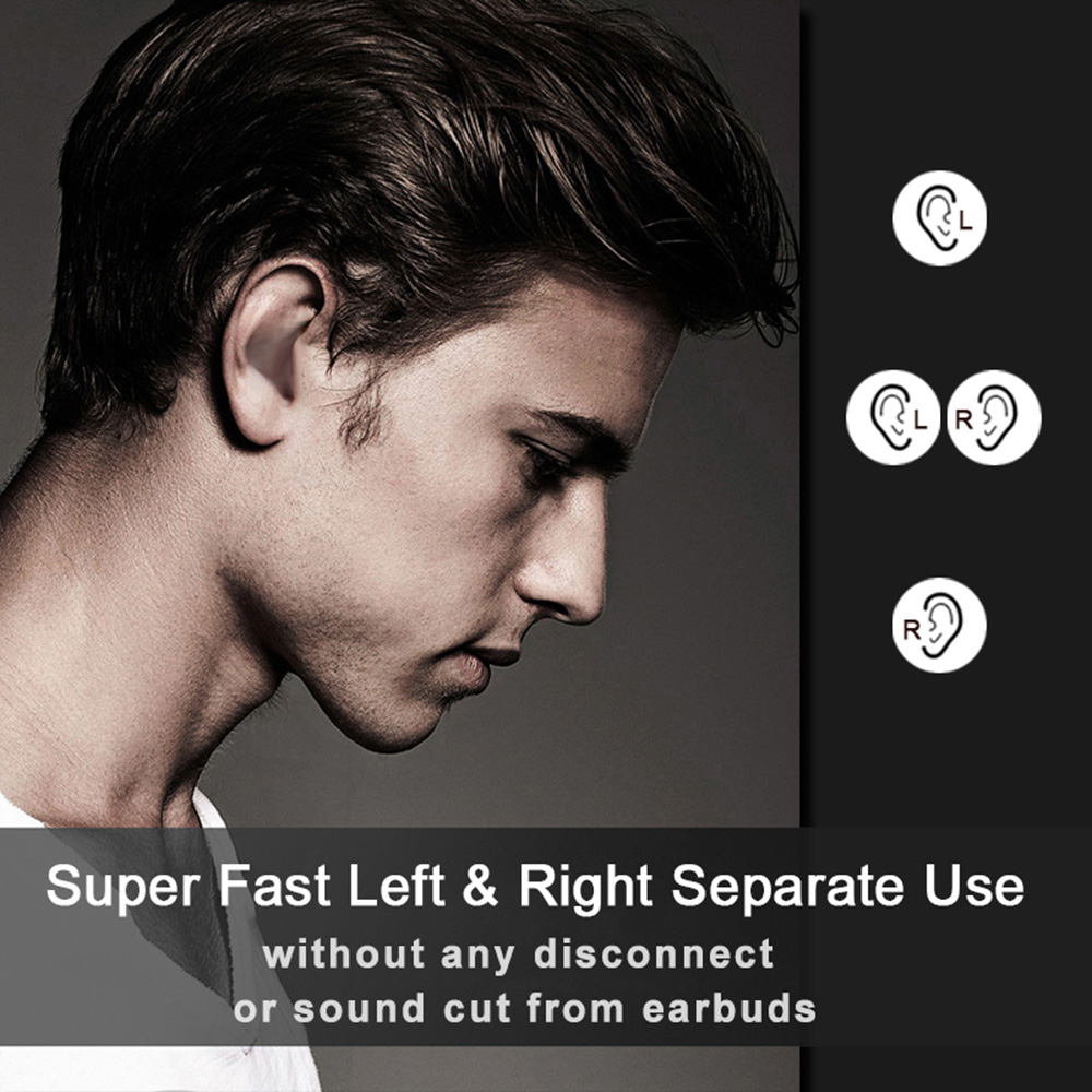 lowest price Newest Mini Pro 4 TWS Bluetooth Earphone Wireless Headphones Sport Handsfree Earbuds Stereo Noise Cancel Gaming Headset with Mic