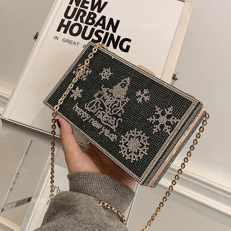 с доставкой 2021 woman's winter chain designer Christmas Gift Shoulder bag Cute Lattice box Pocket handbag