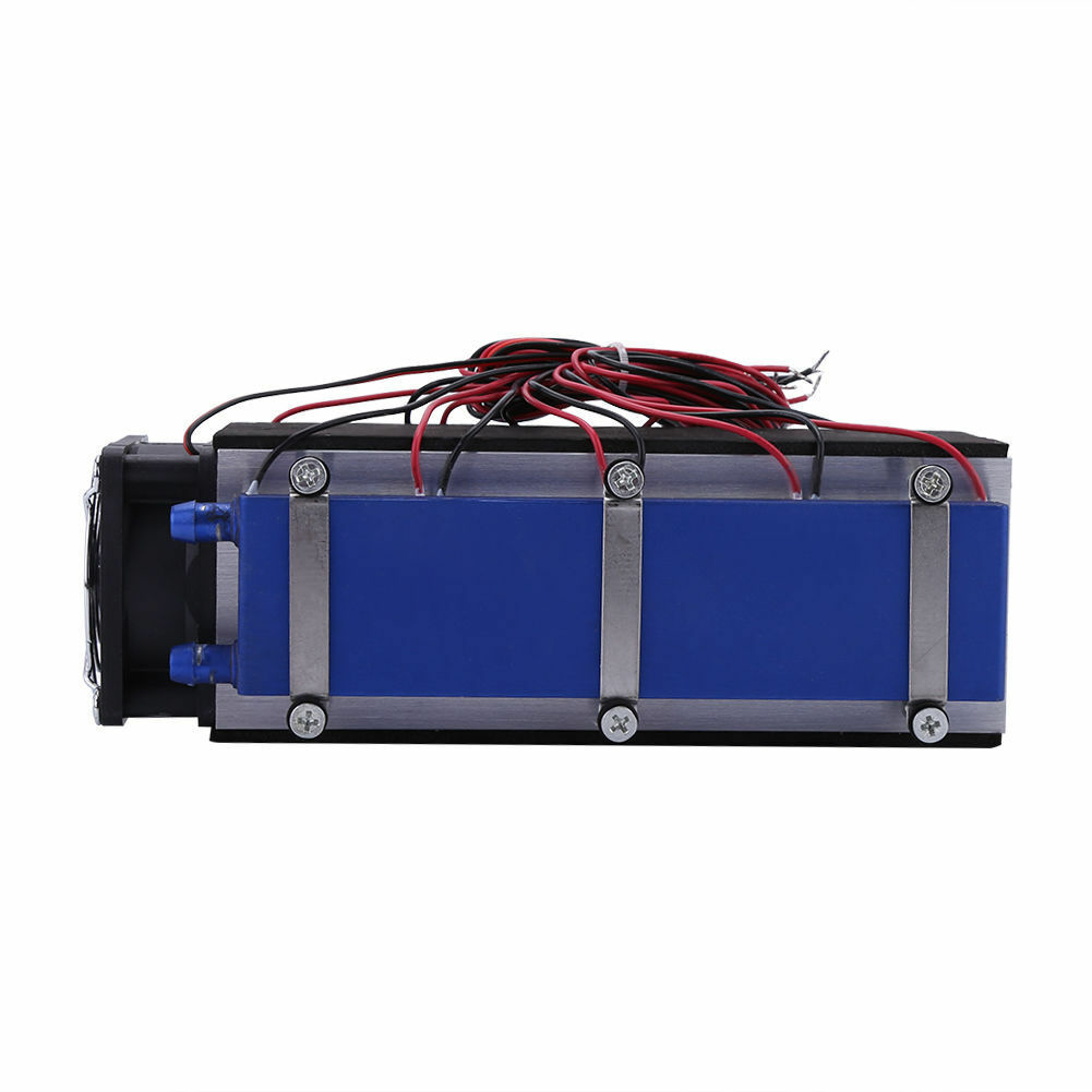 12V 576W 8 Chip аксессуары алюминиевые холодильники Pet кровать DIY термоэлектрический кулер TEC1 12706 низкий уровень шума инструмент Пельтье дома