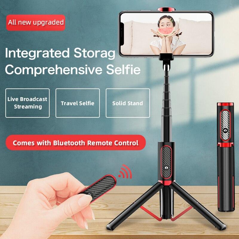 UJU Selfie Stick Tripod Portable One-Piece Universal Multifunction Mini Bluetooth Remote Control Desktop Live Boardcast Stand
