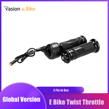 Accélérateur de torsion de vélo électrique pour bafang twist throttle Bafang BBS01 BBS02 BBSHD accélérateur de vitesse de torsion pour pièces de vélo électrique E accélérateur de torsion de vélo
