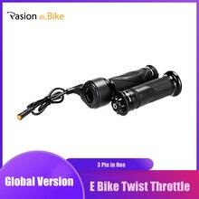دراجة كهربائية تويست خنق ل Bafang BBS01 BBS02 BBSHD تويست سرعة خنق ل دراجة كهربائية أجزاء E الدراجة تويست خنق