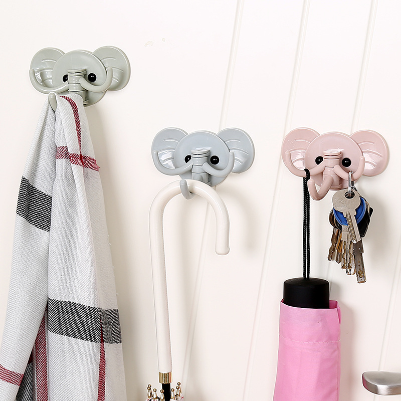 Oversized Powerful Vacuum Strong Transparent Suction Cup Wall Hooks Free Seamless Nail Hook Hanger For Kitchen Bathroom