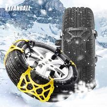 1/3Pcs TPU Snow Chains Universal Car Suit 165-265mm Tyre Win