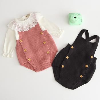 Koreański japonia styl jesień noworodka dla dzieci ubrania bawełniane dla niemowląt dziewczyny Romper Boys Baby Romper marka odzieżowa dla dzieci kombinezon odzież tanie i dobre opinie campure COTTON spandex Akrylowe Moda Stałe O-neck Body Unisex Bez rękawów Pasuje prawda na wymiar weź swój normalny rozmiar