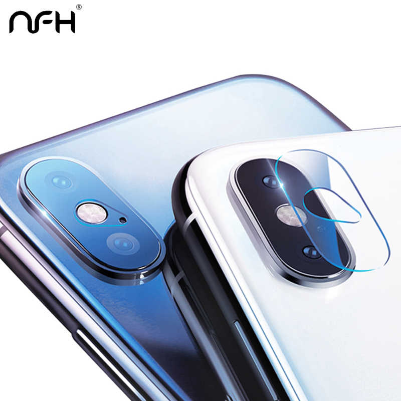 NFH Camera Lens Protector Glass For Apple iPhone 6 6S Plus 7 8 Plus Camera Lens Tempered Glass For iPhone X XR XS Max 11 Pro Max