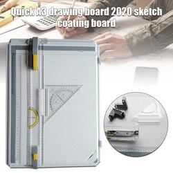 Mesa de dibujo Manual con accesorios cabeza de dibujo Placa de pintura DJA99