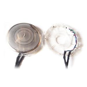 Image 2 - 4Pcs/Set LED Audio Sound Speaker cover For Mercedes Benz E Class W213 2015 2018 Trim Cover Case Emblem cover