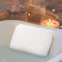 Luxury Bath Spa Pillow Cushioned Spongy Relaxing Bathtub Soft Suction Accessories Cushion Pillow Comfortable Bathroom 8 Cup S4I3