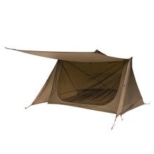 OneTigris 3 сезон Палатка Сверхлегкий приют Бейкер стиль палатка для бушкрафтеров и выживших Кемпинг Охота Пешие прогулки