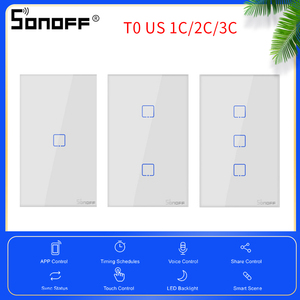 Itead Sonoff Touch Switch T0 U