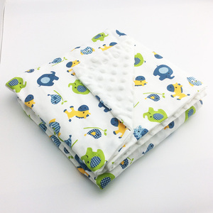 Image 5 - Minky Baby Blanket Flannel Fleece Animal Blanket Infant Swaddle Nap Receiving Stroller Wrap For Newborn Baby Bedding Blankets