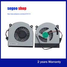 Novo ventilador de refrigeração da cpu Do Portátil para Hasee K650S K650C K650D K530S K590C K360E K610C K590S W370S W370ET K350S K650C-I7 K660E