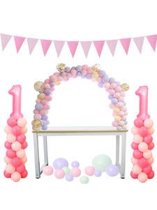 Table Balloon Arch Set Balloon Column Stand for Wedding Birthday Graduation Party Balloons