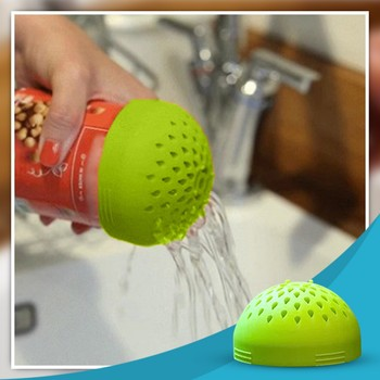 Plastic Screen Mesh Tea Leaf Strainer Coffee beans Multi-use Mini Colander For Fast Fuss-free Cooking The Micro Kitchen Colander image