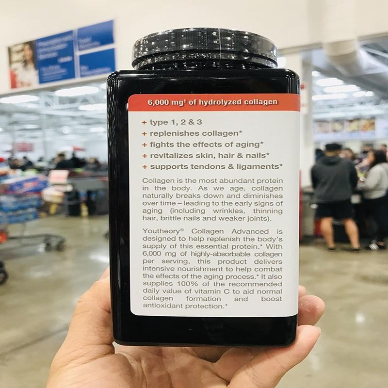 Americano colágeno aminoácidos contendo 390 comprimidos 18