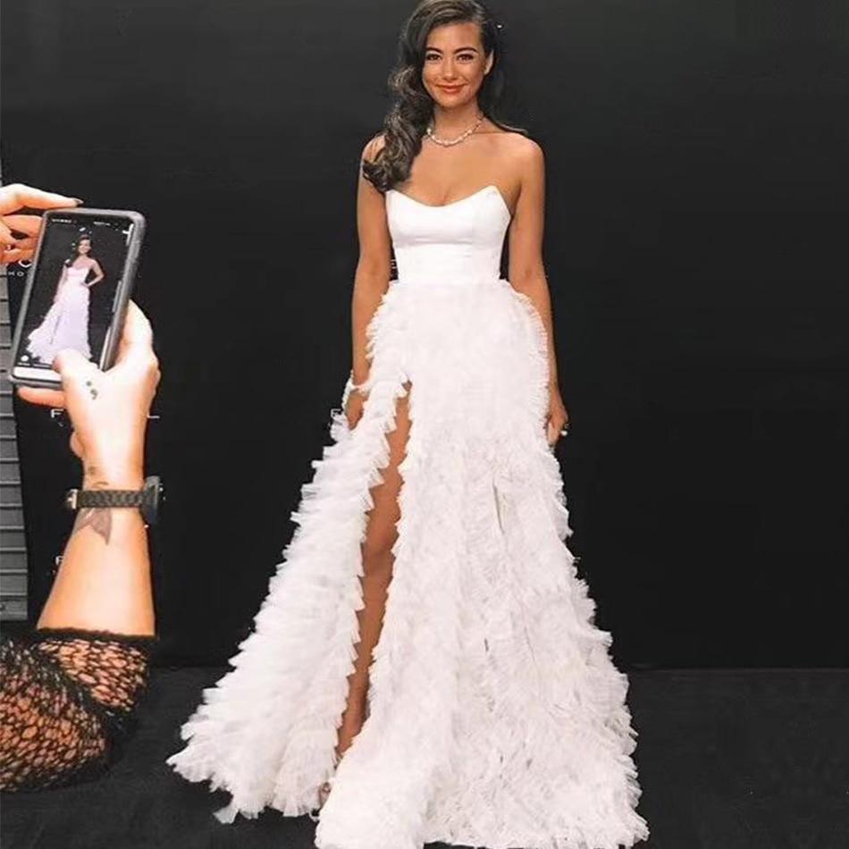Adyce 2020 New Summer Women Celebrity long dress Vestido Sexy Sleeveless Strapless Lace Club Dress Elegant Maxi Party Dress