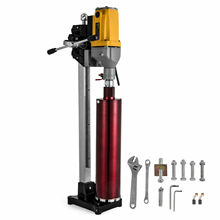 2180 Watt Aluminum Alloy Core Drill Hollow Drilling Rig Maximum Drilling Diameter 160mm Dua