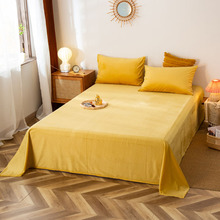Pillowcase Bed-Linen Velvet-Sheets Soft Winter New Warm Crystal Solid 1pcs 2pcs