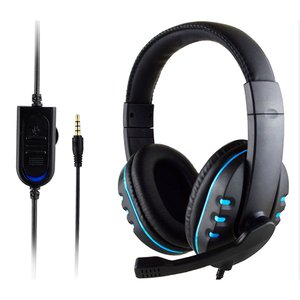 Стерео проводные Игровые наушники с микрофоном для PS4 Sony PlayStation 4 / PC