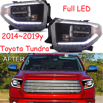 car bumper headlight Tundra daytime light 2014~2019y DRL car accessories LED headlamp Tundra fog light